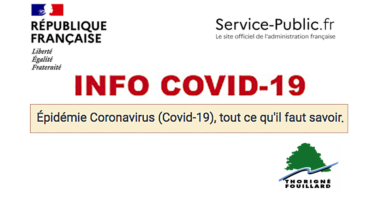 COVID-19 : Evolutions,Infos et aides